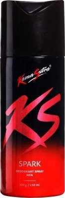 Kamasutra Spark Deodorant Spray - For Men(150 ml)