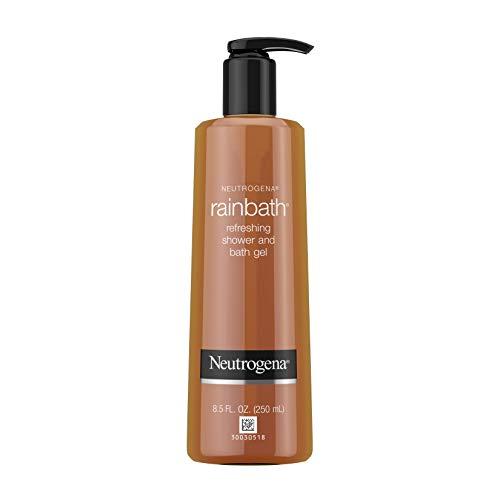 Neutrogena Rainbath Erfrischend und reinigend Dusch- und Badegel, Moisturizing Body Wash und Rasiergel mit Clean Lather, ursprünglichem Duft, 8,5 fl. oz (6er-Pack)