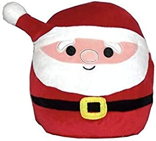 JGT Squishmallows Animal Christmas Squad (1) 12 Inch Nick Santa Claus Super Soft Plush Toy Pillow Pal (1) Ja'Cor Exclusive Squishy Stress Gear Squeezable, Soft- Bundle of 2