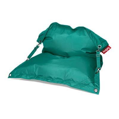 Fatboy® Buggle-Up türkis | Polyester-Sitzsack für draußen | Loungesessel im Outdoor-Bereich | 185 x 137 cm