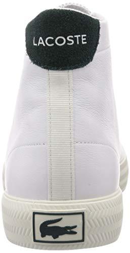 [ラコステ]スニーカー[公式]メンズGRIPSHOTMID01201ホワイト×グリーン26.0cm