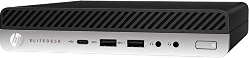 HP EliteDesk 705 G4 Business Mini Desktop Computer, AMD Quad-Core Ryzen 5 Pro 2400GE up to 3.8GHz (Beats I7-7500U), 16GB DDR4 RAM, 1TB PCIe SSD, 802.11ac WiFi, Windows 10 Pro, BROAGE Mouse Pad