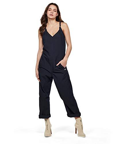G-STAR RAW Womens Utility Strap Loose wmn s/Less Jumpsuit, Rinsed C282-082, Medium