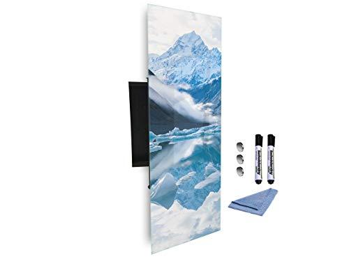 Sleutelkast 80x30 cm samen met Magnetic Glass Markerboard digitale drukachtergrond 659348245