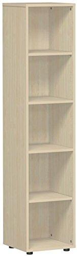 Gera Möbel kastsysteem Flex plank, houtdecor, esdoorn, 40 x 40 x 180,8 cm