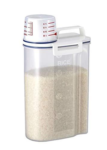Contenedor hermético para cereales, barril de arroz, dispensador de granos secos para almacenar granos de arroz, cereales, azúcar, nueces, granos de café