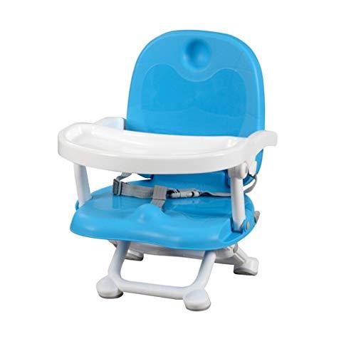 YShop Siège rehausseur portatif Confortable de bébé de bébé de Chaise réglable en Hauteur, Chaise dinante des Enfants for des bébés aux Enfants en Bas âge ( Color : Blue )