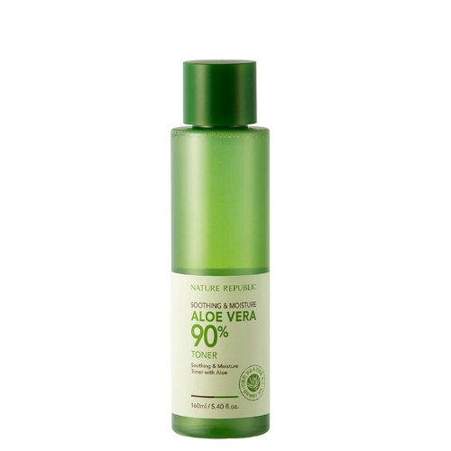 Nature Republic - Aloe Vera Toner Sensitive - 90% Aloe Feuchtigkeitstoner - Reinigung - Gesichtspflege