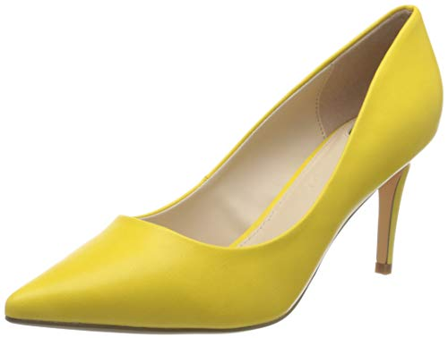 Buffalo Damen Fanny 2 Pumps, Gelb (Yellow 001), 38 EU