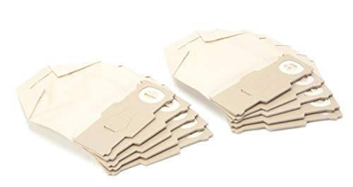 DREHFLEX - SB817-3 - 30 Staubsaugerbeutel aus Papier passend für Vorwerk - Kobold 130/131 / 131SC / VK130 / VK131 - DREHFLEX