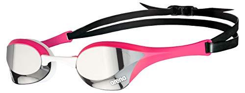 ARENA - Occhialini da nuoto unisex Cobra Ultra Swipe, colore: Argento/Rosa