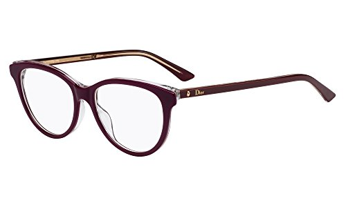 Dior MONTAIGNE17 MVG 51 Gafas de sol, Rojo (Burgundy Cry), Mujer