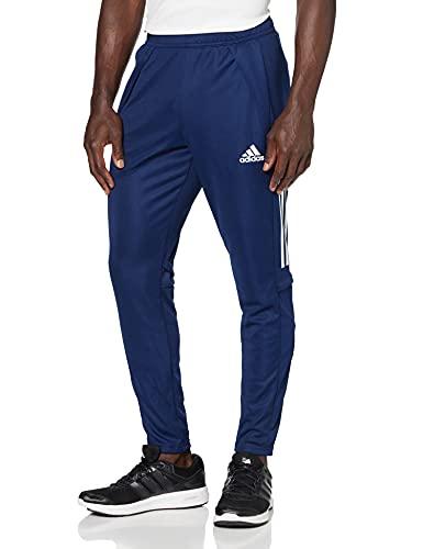 adidas Herren Condivo 20 Training Hose, Navy Blue/White, XL