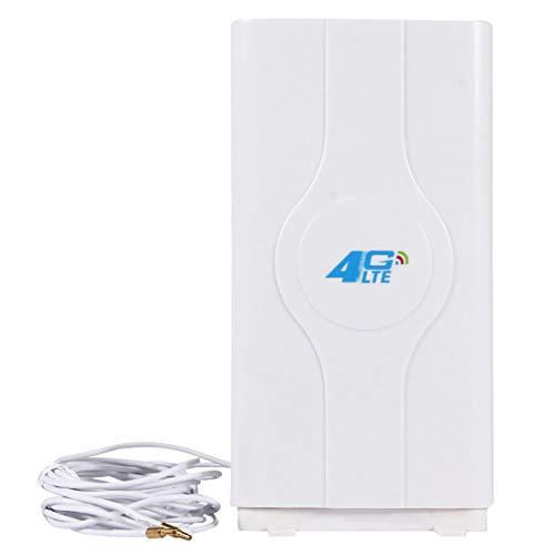 Sevenplusone Licht en mooi, gemakkelijk te dragen. LF-ANT4G01 Indoor 88dBi 4G LTE MIMO Antenne met 2 PCS 2 m Connector Draad, CRC9 Poort, Gemakkelijk te installeren