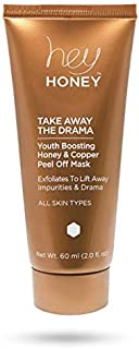 Hey Honey Take Away the Drama Honey and Copper Peel Off Mask, 2 Fluid Ounce