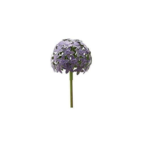 Metall-Kugel Gartenstecker Allium