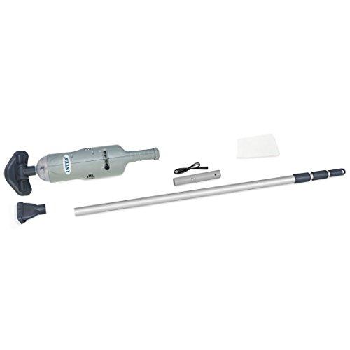 Intex 28620EP Handheld Rechargeable Spa Pool Vacuum, Grey