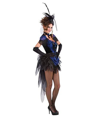 Horror-Shop Burlesque Tänzerin & Revue Girl Kostüm für Fasching