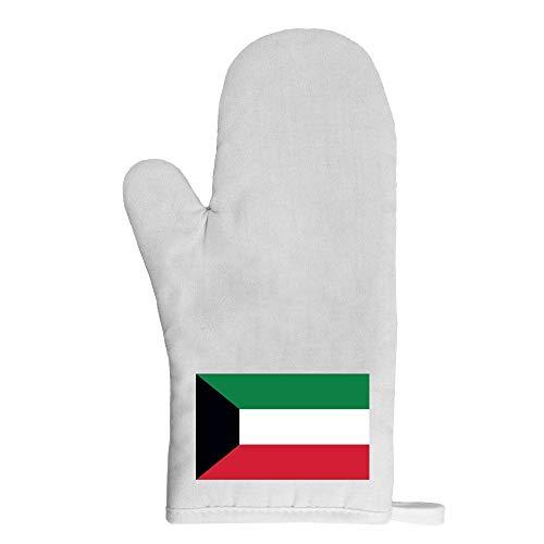 Mygoodprice Ofenhandschuh Topflappen Flagge Kuwait