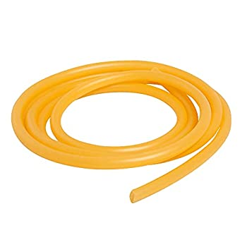 Feelers 3mm ID x 6mm OD Natural Latex Rubber Tubing Speargun Band Slingshot Catapult Surgical Tube Rubber Hose,Yellow,3M Length