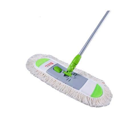 smzzz Mopp, Flachmopp, Großflächige Reinigung, Staubdichter Mopp, Mikrofaser-Nass- Und Trockenmopp
