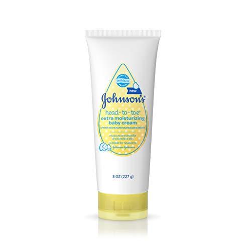 Johnson's Head-to-Toe Extra Moisturizing Baby Cream, 8 Oz -  Aveeno Baby, 548715