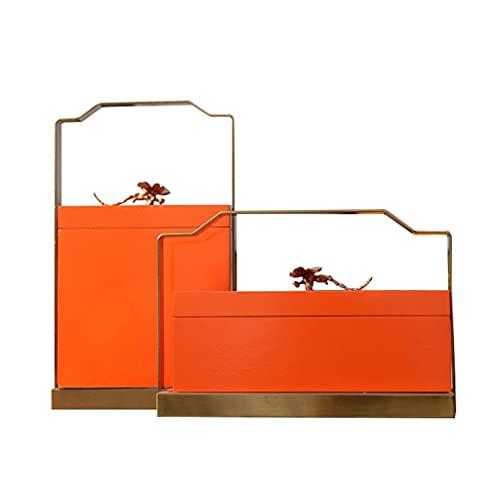cajas para joyas Caja de almacenamiento de latón creativa Caja de almacenamiento portátil de libélula Caja de almacenamiento de lujo ligera Caja de almacenamiento de entrada para guardarropade caja de