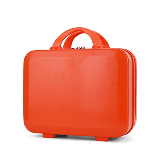 Bciou Mini Travel Hand Luggage Cosmetic Case Small Carrying Pouch Suitcase for Makeup