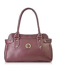 Fostelo Womens Jessy Stylish Handbag (Maroon) (FSB-391)