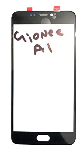 Front Screen Outer Upper Touch Glass Lens Panel for Gionee A1 Black (NO Display ONLY Touch Glass)