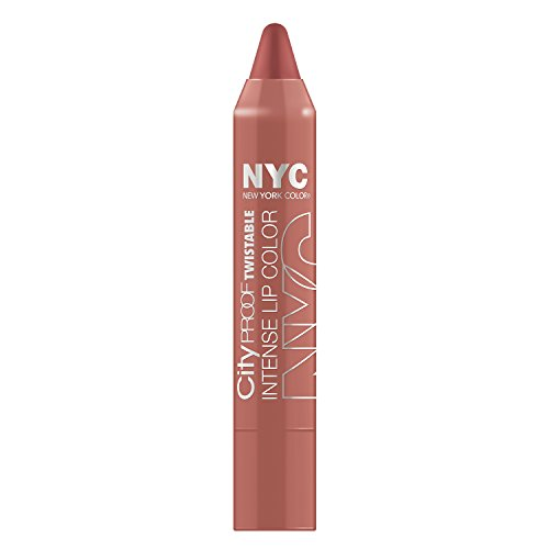 NYC City Proof Twistable Intense Lip Color - Brooklyn Brown Stone