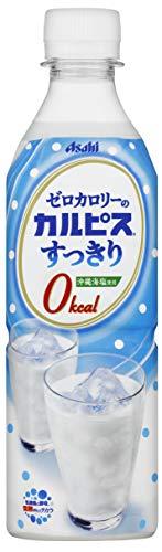 アサヒ飲料 「ゼロカロリーの『カルピス』すっきり」 490ml ×24本