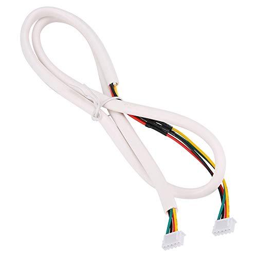 Zetiling 0.5mm2 35m koperen deurbel kabel, 4 Core flexibele ronde zachte kabels, PVC geïsoleerde behuizing, geschikt voor visuele deurbel