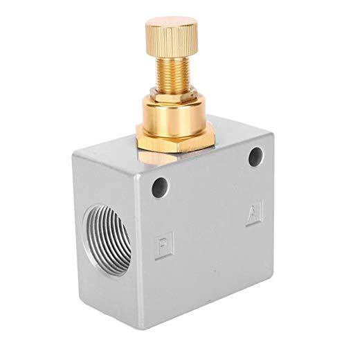 ZhengELE Válvula KLA-20 G3 / 4IN Válvula de Acoplamiento de Aluminio de válvula de Acoplamiento de Aluminio Válvula de aceleración