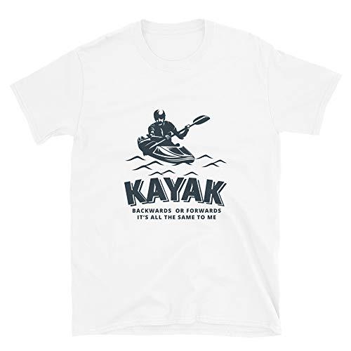 Chameleon Living Grappige Kayak T-Shirt Palindrome kajakken grap
