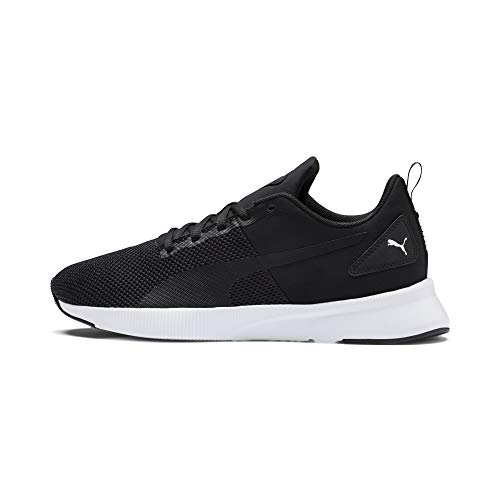 PUMA Flyer Runner, Zapatillas Unisex Adulto, Negro (Black-Black-White), 45 EU