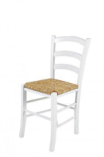 Stuhl 'Toscana II', 2er-Set, Esszimmerstuhl, Küchenstuhl, Holzstuhl, Stuhlset, Massiv