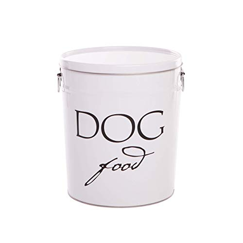 Harry Barker Dog Food Storage - White - 10 lb