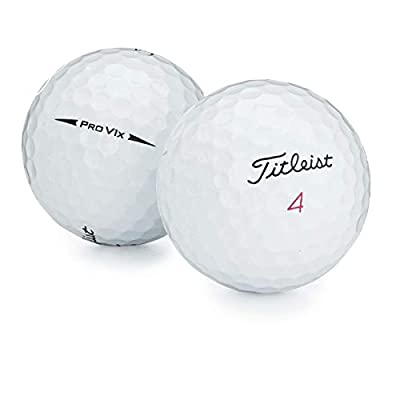 Titleist 36 ProV1x 2017 AAAA Near Mint Used Golf Balls with Tote Bag