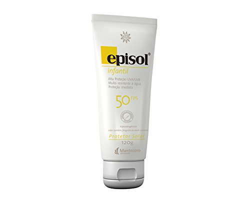 Protetor Solar Infantil FPS 50, 120g, Episol