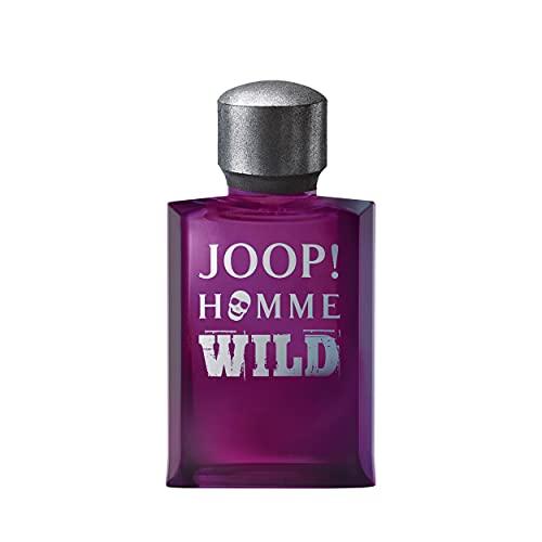 JOOP! Homme Wild Eau de Toilette for him, holzig-aromatischer Herrenduft, 125 ml