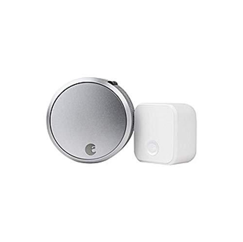 August Smart Lock Pro + Connect - Bluetooth - Z-Wave (Renewed)
