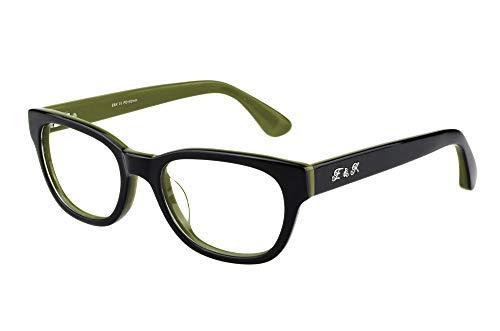 Edison & King Endless - Modieuze leesbril van acetaat