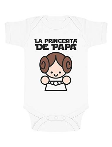 Body de Manga Corta para bebé Regalos Originales para Padres Primerizos - La Princesita de Papá