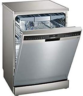 Siemens Free Standing Dishwasher, Silver Inox - SN258I20TM, 1 Year Warranty