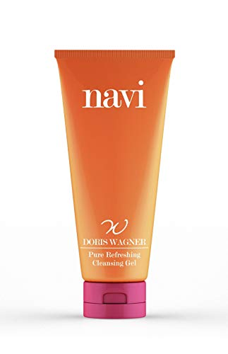 Navi Pure Refreshing Cleansing Gel 1 x 125 ml, Gesichtsreinigung mit Vitamin E