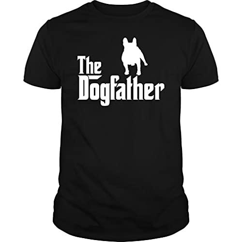 The Dogfather Frenchie Tshirt - Unisex Tee Black