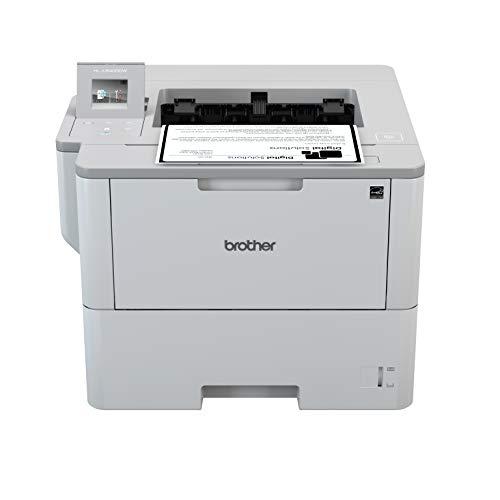 Brother HL-L6400DW A4 monochrom Laserdrucker (50 Seiten/Min., Drucken, 1.200 x 1.200 dpi, Print AirBag für 750.000 Seiten)