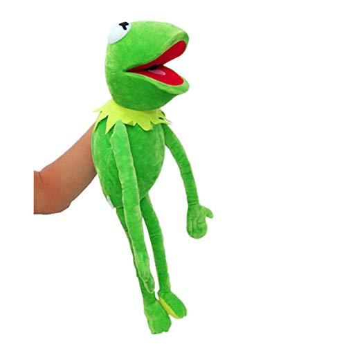 hehuanxiao Handpuppen Die Muppet Show 60cm Kermit Frosch Puppen Bauchredner Plüschtier Puppe Gefüllte Geburtstag