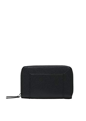 s.Oliver (Bags Damen 39.001.93.2506 Portemonnaie Geldbörse, Black, 1x10x15.5 cm